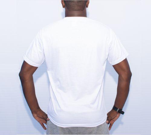 Camisa Unisex Branca Personalizada
