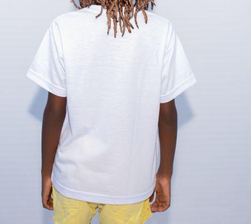 Camisa Infantil Branca Personalizada