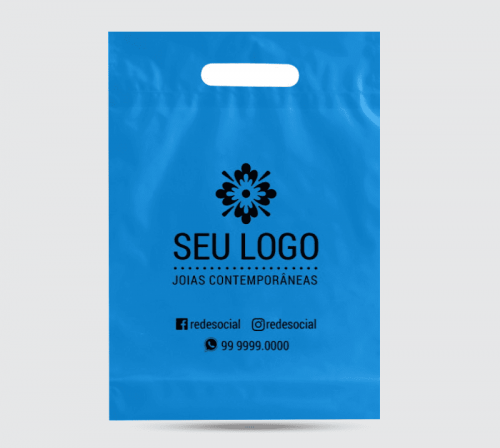 Sacolas Plásticas Personalizadas - 30x40