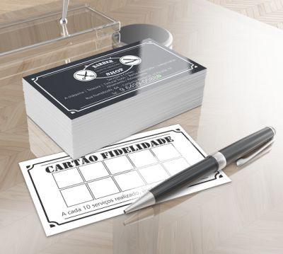 Cartão Simples | Couchê | 9x5 | 4x1