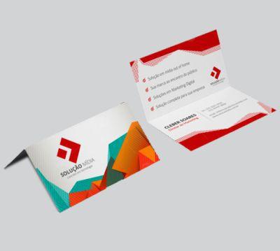 Cartão Simples | Couchê | 9x10 | 4x4
