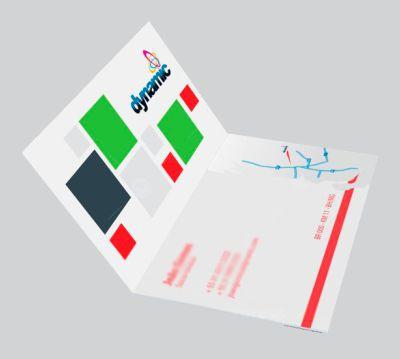 Cartão Simples | Couchê | 9x10 | 4x0